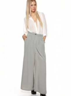 Pantaloni Grey Stylish Comfort Vila