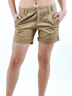 Pantaloni scurti Chang shorts camel